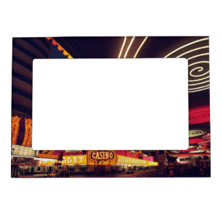 Las Vegas Casinos Magnetic Picture Frame