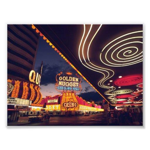 Las Vegas Casinos Art Photo