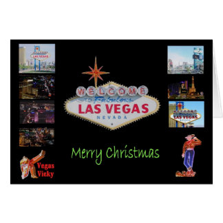 Las Vegas Christmas Card