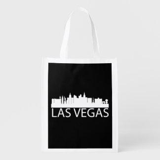 Las Vegas Cityscape Reusable Grocery Bag