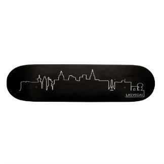 Las Vegas cityscape Skate Boards