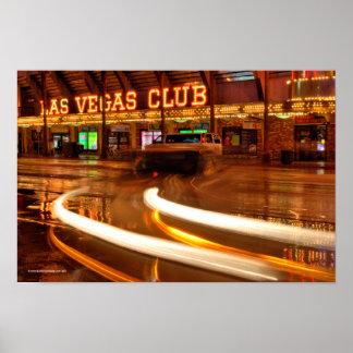 Las Vegas Club Freemont Street Poster