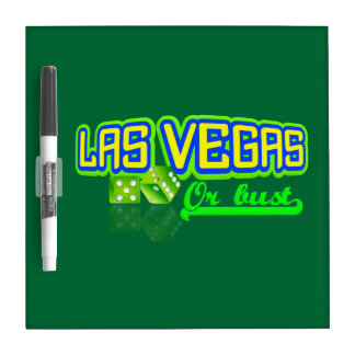 Las Vegas custom message board Dry-Erase Whiteboard