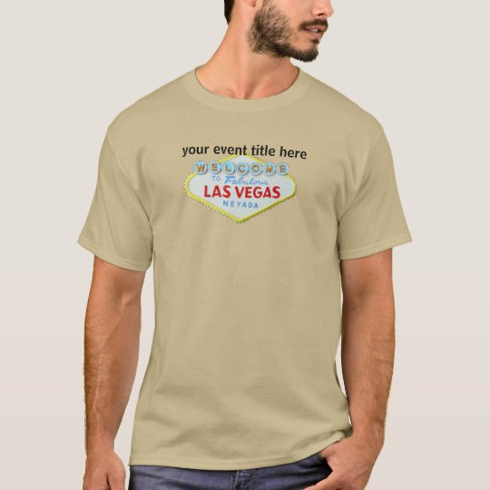 Las Vegas Custom Special Events T-Shirt