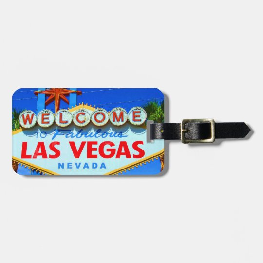 Las Vegas Customised Luggage Tag