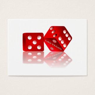 Las Vegas Dice Business Card