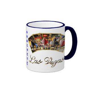 Las Vegas Dual Logo  See Notes Ringer Mug