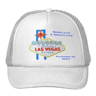 Las Vegas Elope Announcement Hats