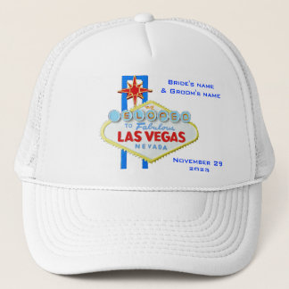 Las Vegas Elope Announcement Trucker Hat