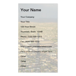 Las Vegas Evening Double-Sided Standard Business Cards (Pack Of 100)