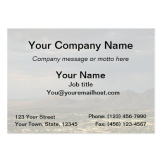 Las Vegas Evening Large Business Cards (Pack Of 100)