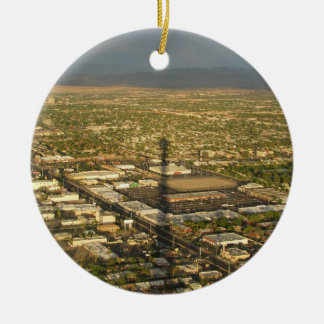 Las Vegas Evening Christmas Ornament