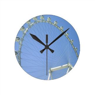 Las Vegas Ferris Wheel Round Clock