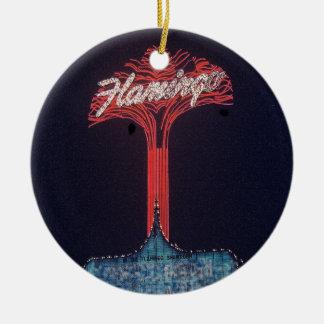 Las Vegas Flamingo Hotel Christmas Ornament