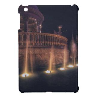 Las Vegas Flamingo Hotel Fountain Architecture iPad Mini Cases