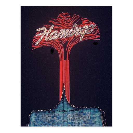 Las Vegas Flamingo Hotel Postcard