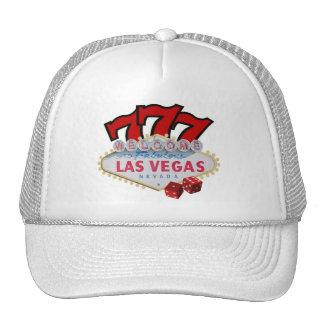 Las Vegas Gambler's Lucky Cap Hats