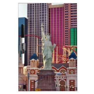 Las Vegas Gambling Game Casino Neon Sign Dry-Erase Whiteboards