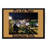 Las Vegas Graduation Party Greeting Card