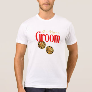 Las Vegas Groom ask me to customize casino chips Tshirts