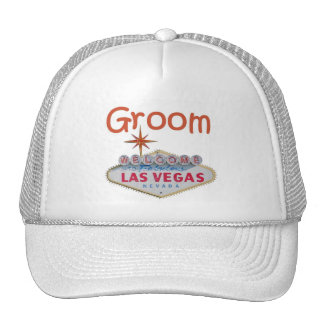 Las Vegas Groom Cap Hat