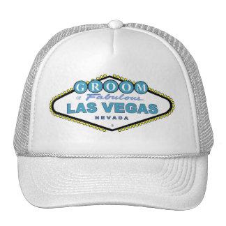 Las Vegas GROOM Cap Mesh Hat