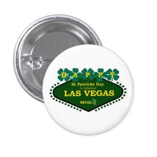 Las Vegas Happy St Patrick s Day Button