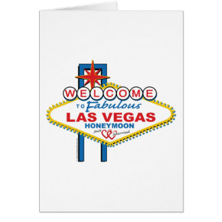 Las Vegas Honeymoon Card