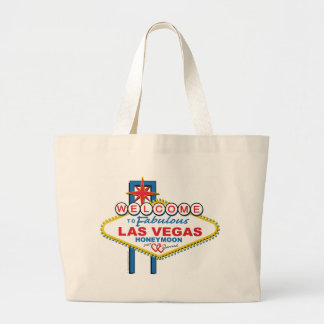 Las Vegas Honeymoon Large Tote Bag