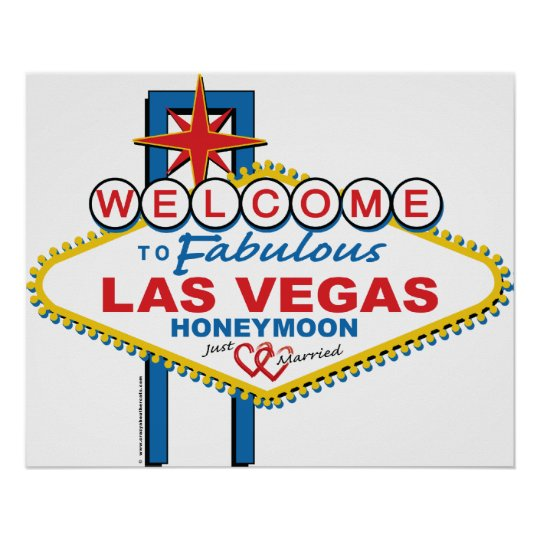 Las Vegas Honeymoon Poster