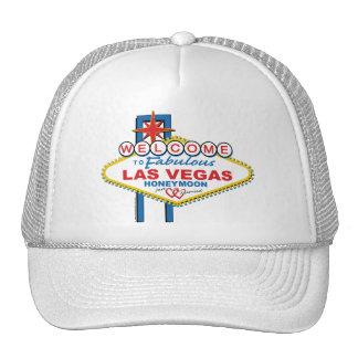 Las Vegas Honeymoon retro Trucker Hat
