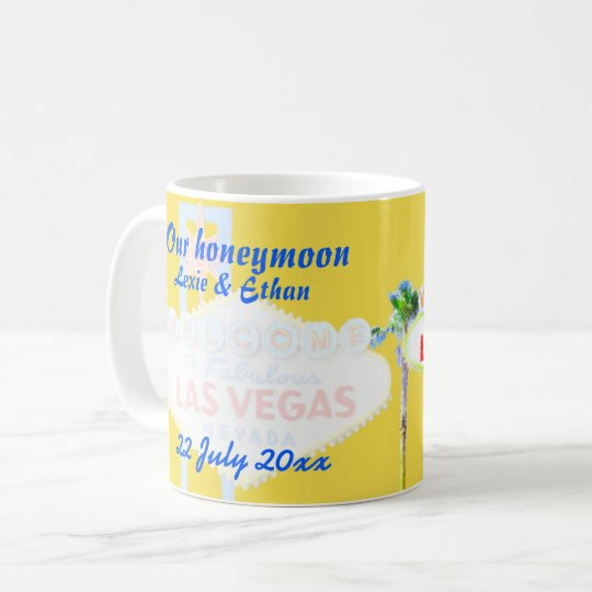 Las Vegas Honeymoon Souvenir Coffee Mug