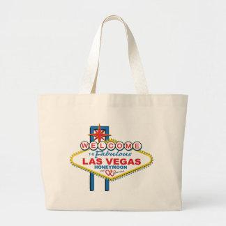 Las Vegas Honeymoon Jumbo Tote Bag