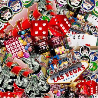 Las Vegas Icons - Gamblers Delight Photo Cut Out