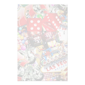 Las Vegas Icons - Gamblers Delight Customized Stationery