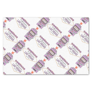 Las Vegas Icons Purple Tissue Paper