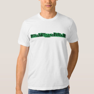 Las Vegas Idol 3 D T-Shirt