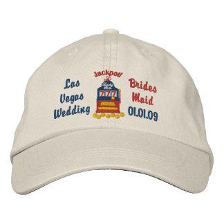 Las Vegas Jackpot - Brides Maid Embroidered Hats