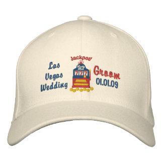 Las Vegas Jackpot - Groom Baseball Cap