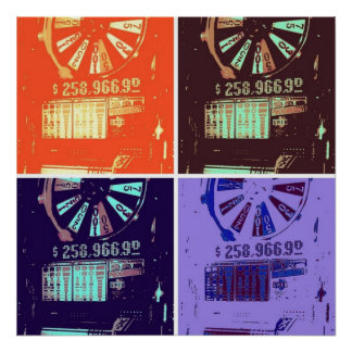 Las Vegas Jackpot Slots Posters