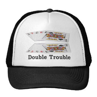 Las Vegas Lucky Double Trouble Gambler's Cap! Cap