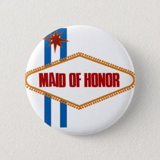 Las Vegas Maid of Honor 6 Cm Round Badge