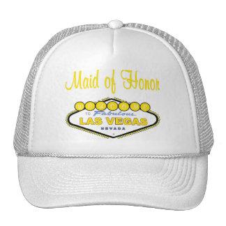Las Vegas Maid of Honor Cap Hats