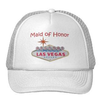 Las Vegas Maid of Honor Cap Mesh Hats