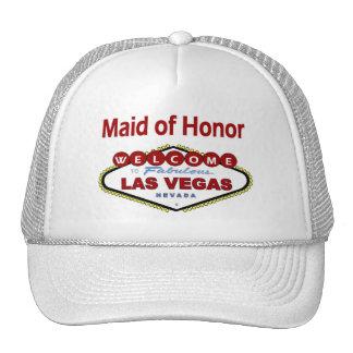 Las Vegas Maid of Honor New Color Deep Red Cap! Trucker Hat