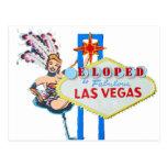 Las Vegas Marriage Elope Announcement