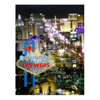 Las Vegas Marriage We Eloped Post Card