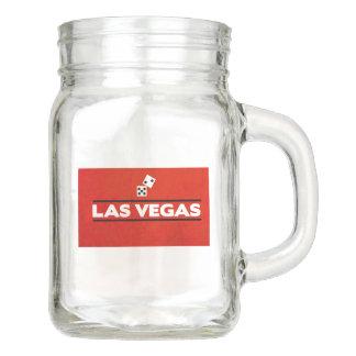 Las Vegas Mason Jar