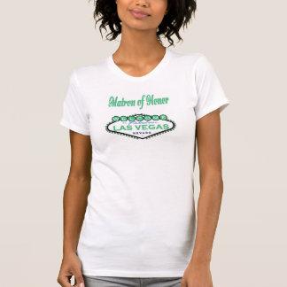 Las Vegas Matron of Honor Spring Green Camisole Tshirt