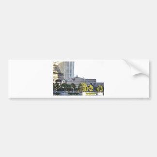 Las Vegas miniature trees_.jpg Car Bumper Sticker